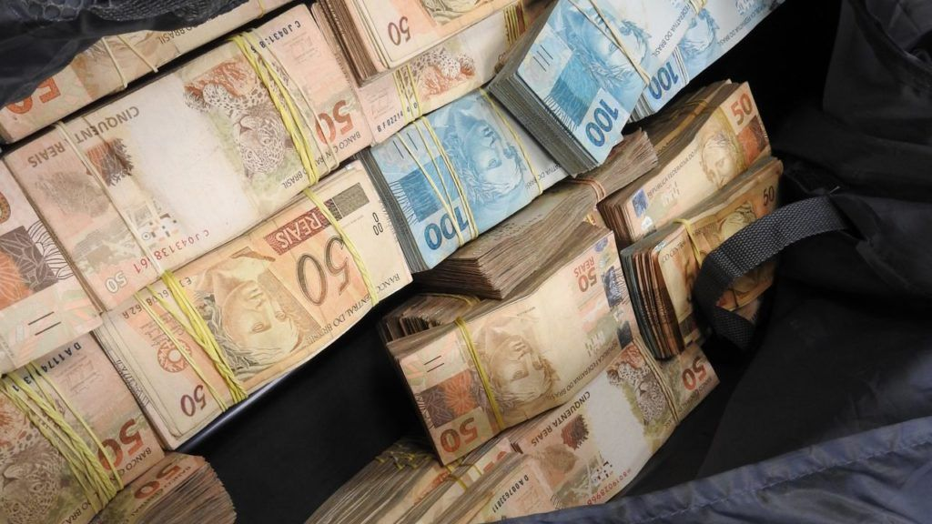 mala de dinheiro