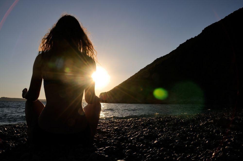 Como meditar na natureza
