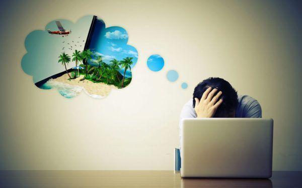 Como lidar com a depressão após as férias