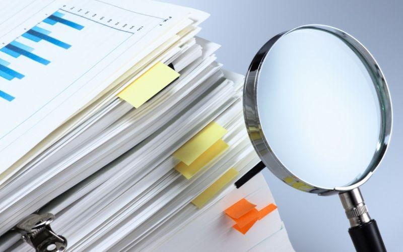 Lista de relatórios
