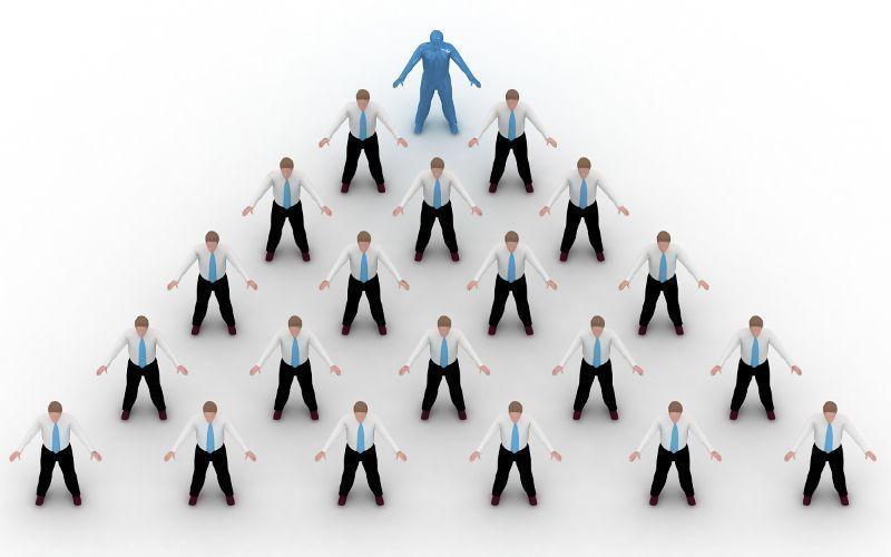 Piramide de pessoas