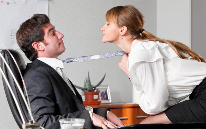 Romance no escritório