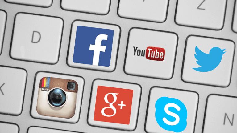 Simbolos de redes sociais